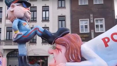 Polska pod butem Kaczyńskiego na niemieckiej paradzie