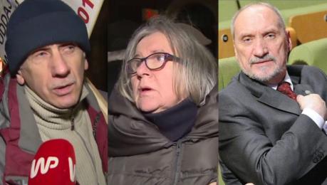 Uczestnicy miesięcznicy smoleńskiej o dymisji Macierewicza To największy błąd PiS