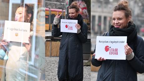 Ciężarna Boczarska promuje Legalną Kulturę WIDEO
