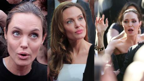 Jolie cierpi na porażenie nerwu twarzowego Ma niedowład twarzy i nie może do końca zamknąć oczu