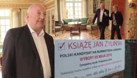 Polski kandydat na burmistrza Londynu Oferuję się jako kandydat z jajami polskimi
