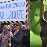 """Czarny Protest w Sopocie. """"Będziemy zmuszone do urodzenia płodu, który zaraz umrze!"""""""