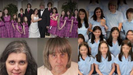 Rodzice więzili 13 swoich dzieci Były SKUTE ŁAŃCUCHAMI Wyglądali jakby nigdy nie widzieli ludzi