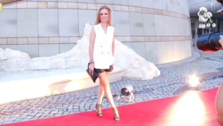 Chylewska pokazała nogi