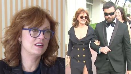 Susan Sarandon o Cannes Pojawiło się wiele pięknych sukni w których nie dało się usiąść ani pójść do toalety
