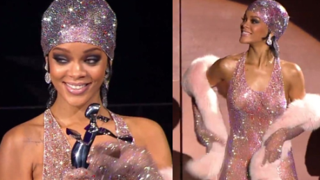 Rihanna POKAZAŁA WSZYSTKO na Fashion Awards