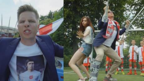 Chajzer nagrał swój HIT EURO 2016 Posłuchajcie jak śpiewa