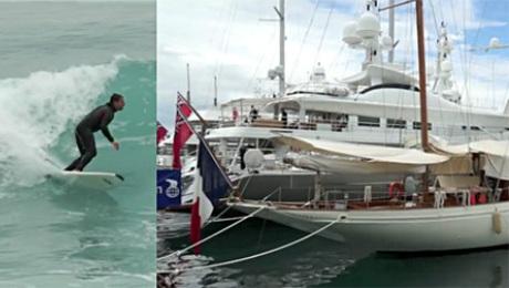 Kac Cannes Samochody jachty i surfing
