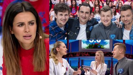 Siwiec trzepocze sztucznymi rzęsami w TVP Promowała się w patriotycznym teleturnieju