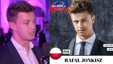 Jonkisz o udziale w Mister World Chciałbym coś zrobić dla Polski