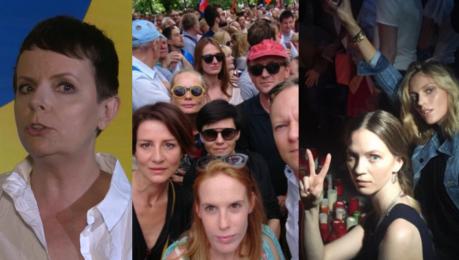 Korwin Piotrowska Niektóre gwiazdy zaangażowane w antyrządowe protesty straciły fanów