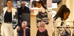 Wystrojona Węgrowska zabrała 2 letnią córkę do sklepu bieliźniarskiego