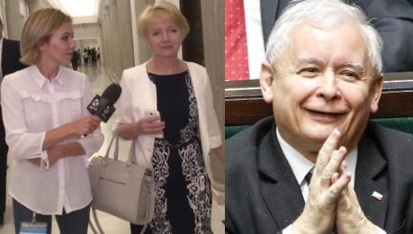 Szczypińska o romansie z Kaczyńskim Trzeba do tego z dystansem podchodzić To nieprawda