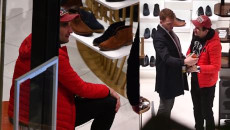 Koterski bez Ptysia kupuje buty na Sylwestra