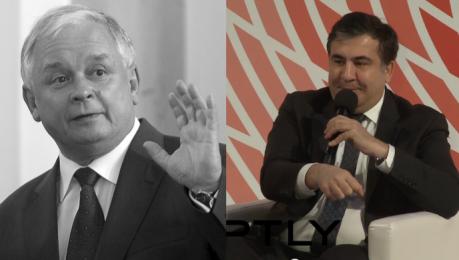 Saakaszwili o Lechu Kaczyńskim Zobaczyłem że prezydent stoi kule świszczą wokół a on się uśmiecha