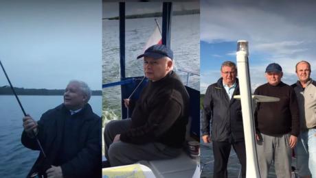 Prezes na wakacjach Tak wypoczywa Jarosław Kaczyński