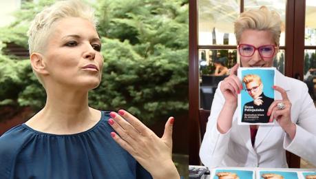 Ilona Felicjańska o nowej książce Sława może być przełożona na słowa Można na tym zarobić