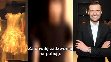 Reporterka TVN u wyrzucona z salonu Zienia Wzywam policję