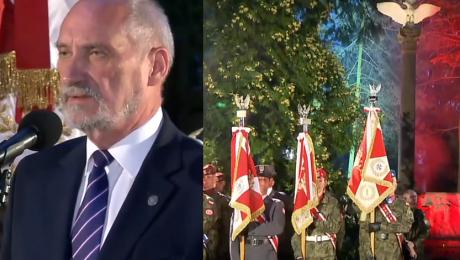 Macierewicz Nigdy Wojsko Polskie nie zapomni o krwi Lecha Kaczyńskiego