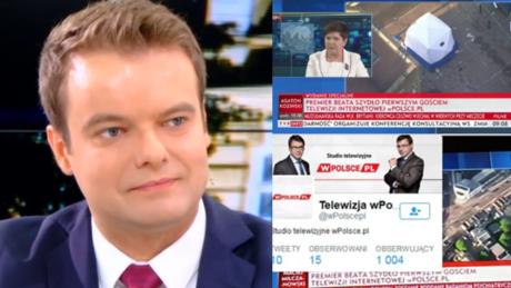 TVP transmituje prywatną telewizję braci Karnowskich Rzecznik rządu To był bardzo ważny wywiad premier Szydło