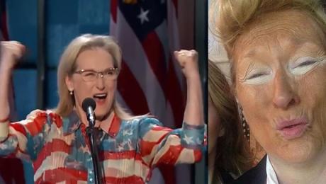 Meryl Streep Hillary Clinton będzie naszą pierwszą kobietą prezydentem