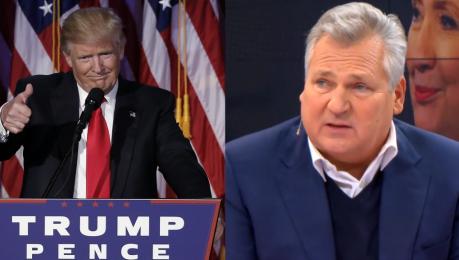 Kwaśniewski o prezydencie Trumpie Nie jestem zaskoczony ale zwycięstwa życzyłem Hillary