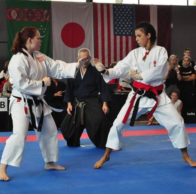 Anna stachurska karate