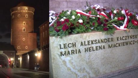 Ekshumacja ciał pary prezydenckiej na Wawelu