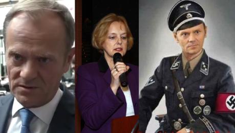 Tusk o wpisie konsul Szonert Biniendy To skandal który fatalnie wpływa na reputację Polski