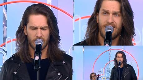 Ekskluzywny Menel śpiewa w Dzień Dobry TVN