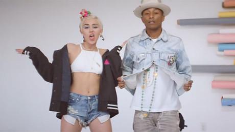 Nowy teledysk Pharrella i Miley