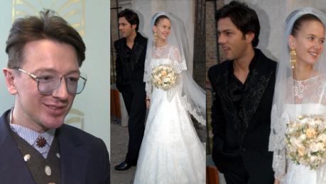 Plich przekazał garnitur ślubny Janiaka na WOŚP Są szczęśliwi mają dzieci To piękne zakończenie garnituru