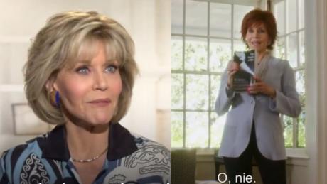 80 letnia Jane Fonda Seks nie jest niczym złym