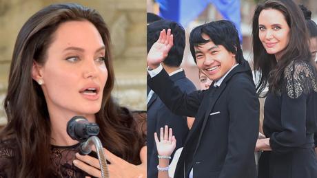 Angelina Jolie Mam nadzieję że wychowałam syna na dumnego Kambodżanina