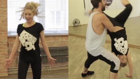 Zawadzka i Maserak ćwiczą przed dzisiejszym Tańcem z gwiazdami