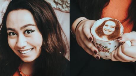 Nowy hit sieci kawa z selfie Tak się robi selfieccino