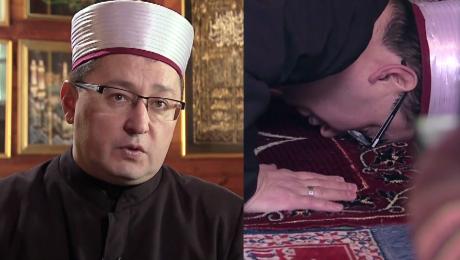 Polski imam o islamie Nie ma przymusu zabijania To co się dzieje na świecie to nie jest z islamu