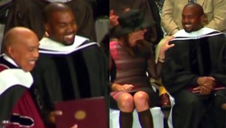Kanye West został doktorem Zestresowałem się trochę