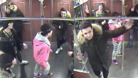 Siedmiu imigrantów ucieka metrem po próbie podpalenia bezdomnego Polaka