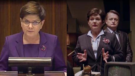 Ucho Prezesa w Sejmie Beata Szydło zacytowała… samą siebie