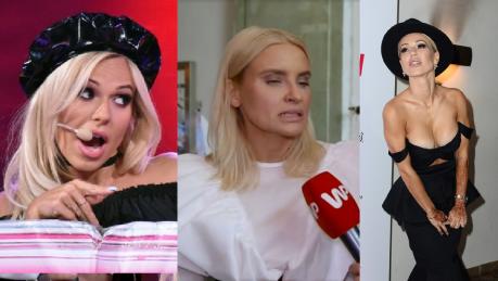 Horodyńska pogodziła się z Dodą W lateksowym berecie wyglądała fantastycznie Moda łączy