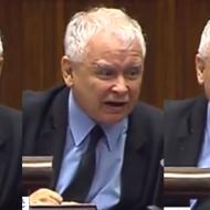"""Wściekły Kaczyński w Sejmie: """"Nie wycierajcie MORD ZDRADZIECKICH nazwiskiem mojego świętej pamięci brata. Zniszczyliście go, ZAMORDOWALIŚCIE, jesteście kanaliami!"""""""