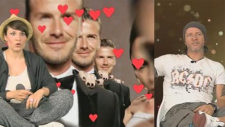 Polski Beckham o związku Beckhamów