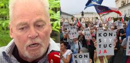 Stacy Keach o polskiej polityce Mam mieszane uczucia Powinniśmy przestać demolować
