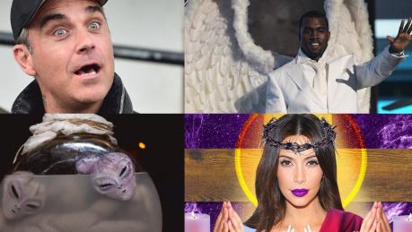 W co wierzą gwiazdy West twierdzi że jest Bogiem Williams szuka UFO… Są też fani reinkarnacji