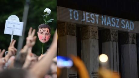 Tak wyglądała demonstracja pod Sądem Najwyższym Powstrzymajmy zamach stanu