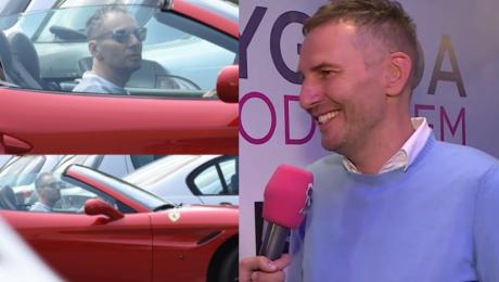 Gojdź wspomina Cannes Oko mi zbielało kiedy widziałem Ferrari lepsze od moich KUPUJĘ NOWY MODEL
