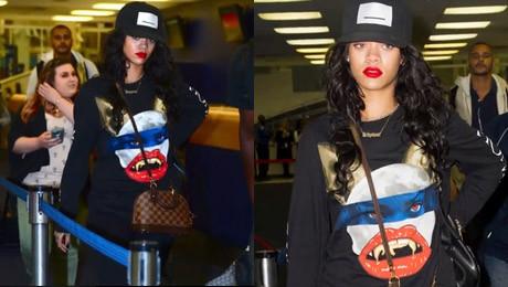 Rihanna NAKRZYCZAŁA NA FANA bo poprosił o zdjęcie