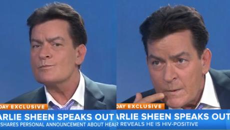 Charlie Sheen Jestem nosicielem wirusa HIV Bliscy mnie zdradzili