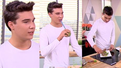 16 letni syn Steczkowskiej gotuje w Dzień Dobry TVN